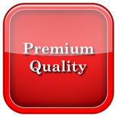 Icono de calidad premium — Foto de Stock