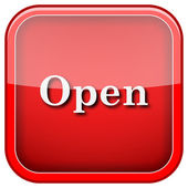 Open icon — Foto Stock