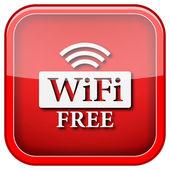 Wifi gratuit icône — Photo