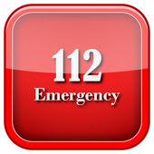112 acil durum simgesi — Stok fotoğraf