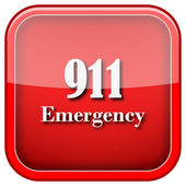 911 noodgevallen pictogram — Stockfoto