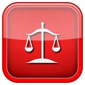 Icono de equilibrio — Foto de Stock