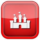 Icono de castillo — Foto de Stock
