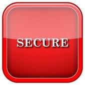 Icono de seguro — Foto de Stock