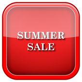 Icône de vente d'été — Photo