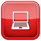 Icône de l'ordinateur portable — Photo