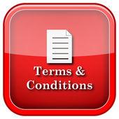 Icône de termes et conditions — Photo