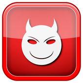 Evil icon — Stockfoto