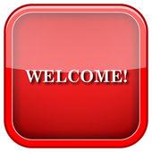 Icono de bienvenida — Foto de Stock