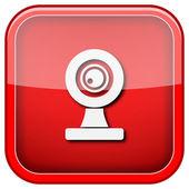 Webcam-symbol — Stockfoto