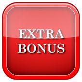 Extra-bonus-symbol — Stockfoto