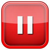 Pause icon — Стоковое фото