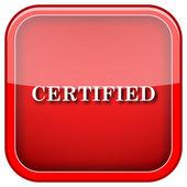 Certified icon — Stockfoto