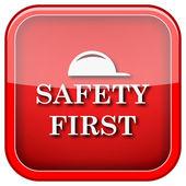 Première icône de sécurité — Photo
