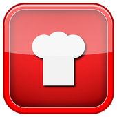 Chef icon — Stock Photo