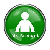 Mijn account-pictogram — Stockfoto