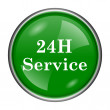 24H Service icon — Stock Photo #37171247