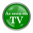 As seen on TV icon — Stock Photo #37171299