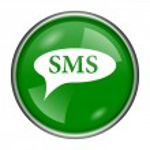 SMS bubble icon — Stock Photo #37171495