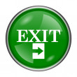 Stock Photo: Exit icon