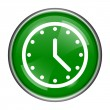 Clock icon — Stock Photo #37173651