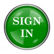 Sign in icon — Stock Photo #37174077