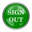 Stock Photo: Sign out icon