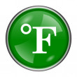 Fahrenheit icon — Stock Photo