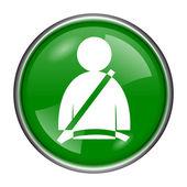 ícone de cinto de segurança — Fotografia Stock