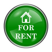 For rent icon — Stock Photo