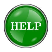 Help icon — Stock Photo