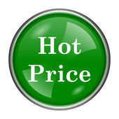 Hot price icon — Stock Photo