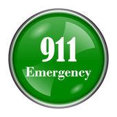 911 Emergency icon — Stock Photo