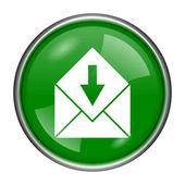 Receive e-mail icon — Stock Photo