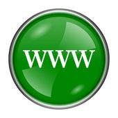WWW icon — Stock Photo