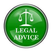 Legal advice icon — Stock Photo