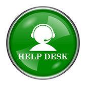 Helpdesk icon — Stock Photo