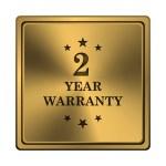 2 year warranty icon — Stock Photo #37370311