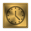 Clock icon — Stock Photo #37372227