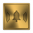 Stock Photo: Bell icon