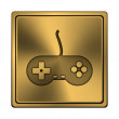 Gamepad icon — Stock Photo #37372549