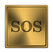 SOS icon — Stock Photo