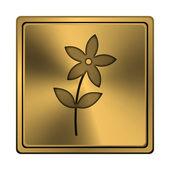 花のアイコン — ストック写真