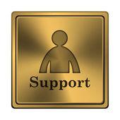 Ikona podpora — Stock fotografie