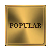 Populära ikonen — Stockfoto