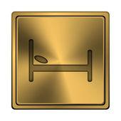 отель icon — Стоковое фото