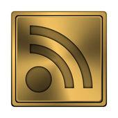 Rss sign icon — Foto de Stock
