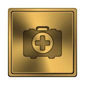 Ilk yardım çantası simgesini — Stok fotoğraf