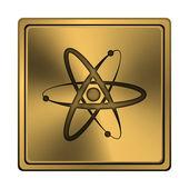 атомы значок — Стоковое фото