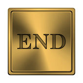 End icon — Foto Stock